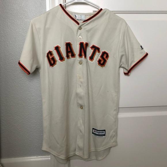 online retailer 019b5 afc11 Boys San Francisco Giants Jersey
